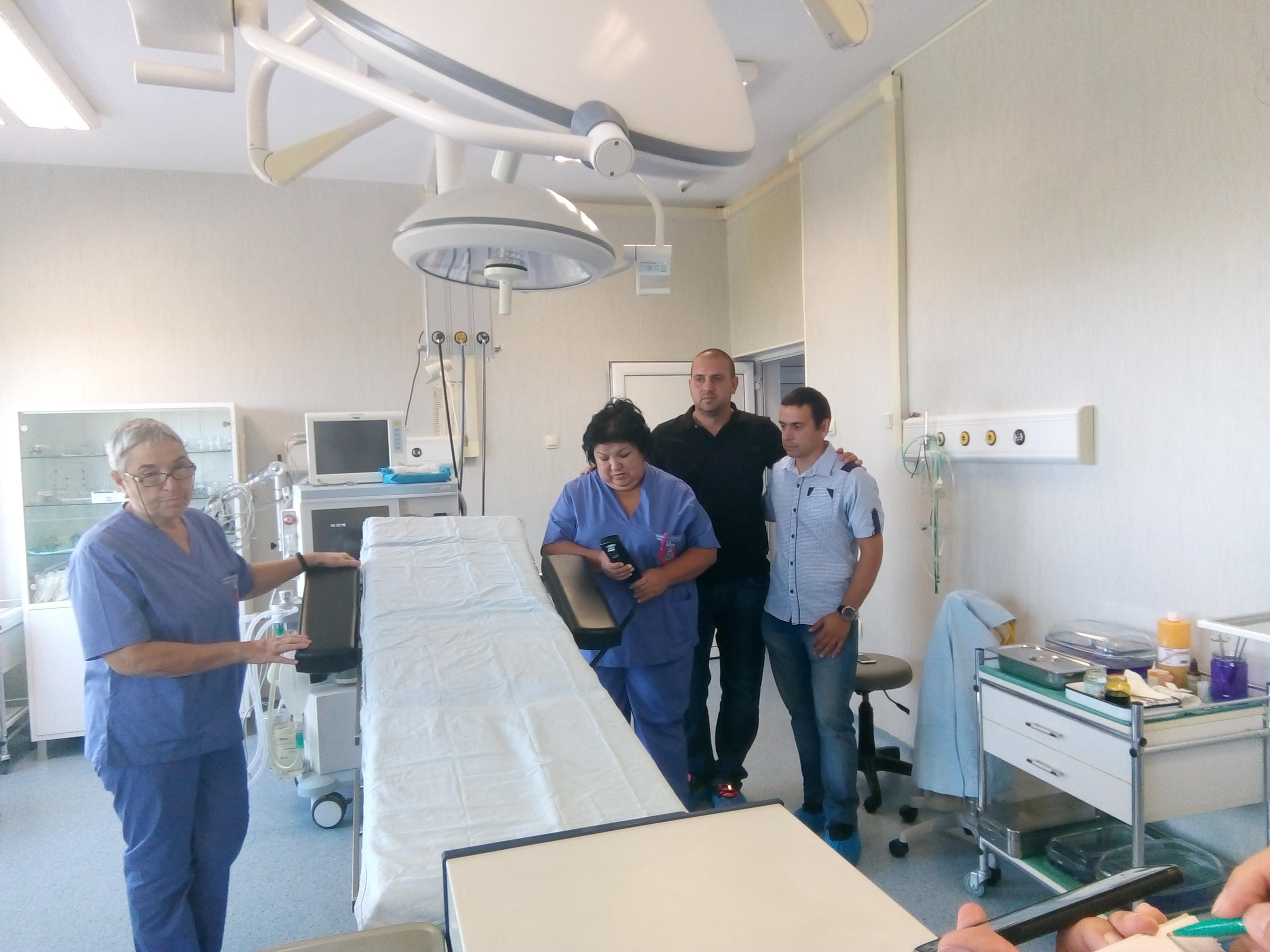 "Детска хирургия на УМБАЛ ""Свети Георги""  получи операционно маса за 22 хил. лева"