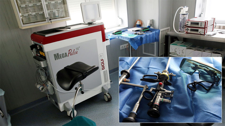 В УСБАЛО оперират простатата със зелен лазер