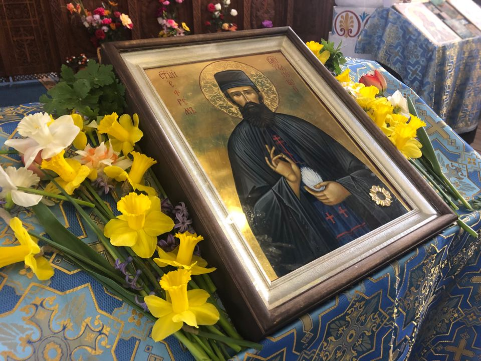 Иконата на свети Ефрем Нови пристига в Севлиево