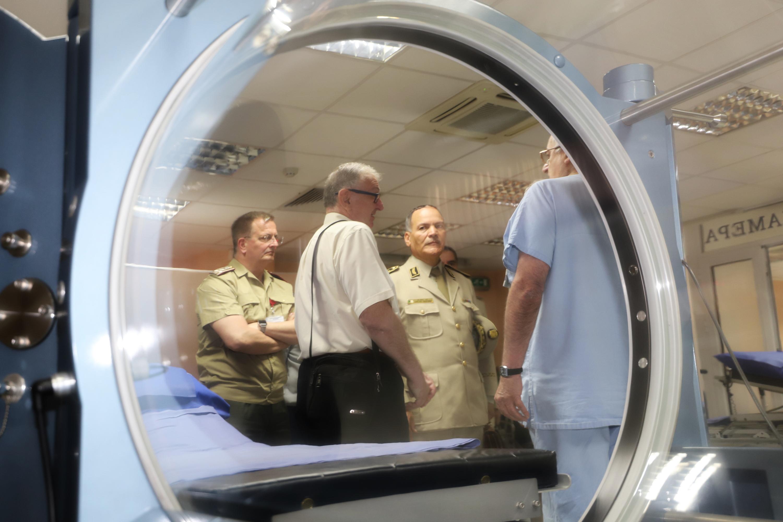 ВМА и Алжир продължават сътрудничеството във военната медицина