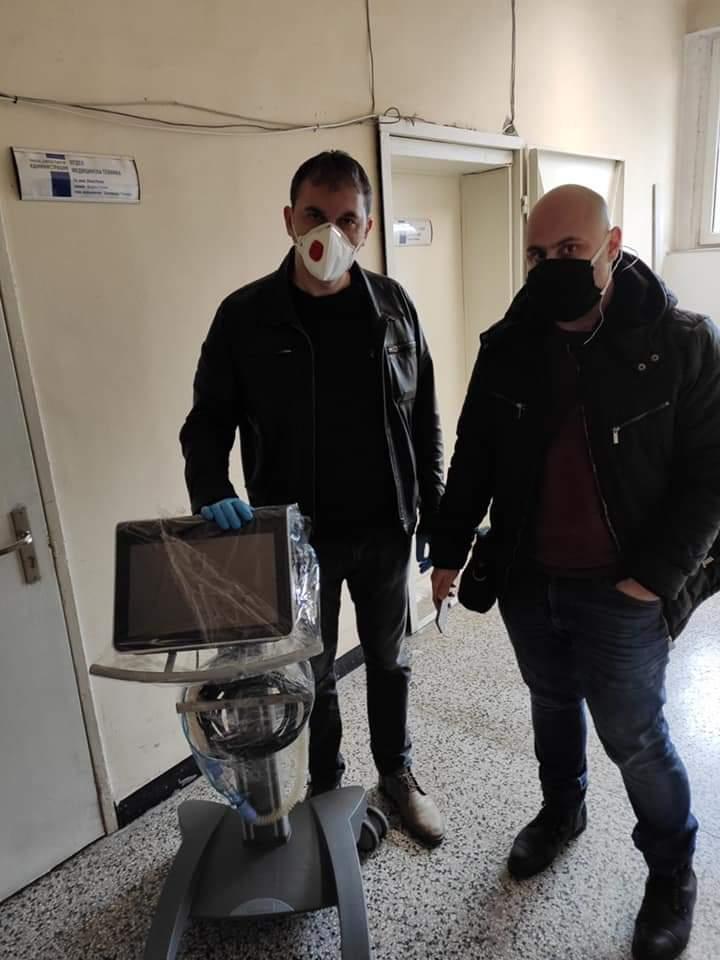 "Проект #задоброто дари респиратор  на Клиниката по инфециозни болести  в УМБАЛ ""Свети Георги"""