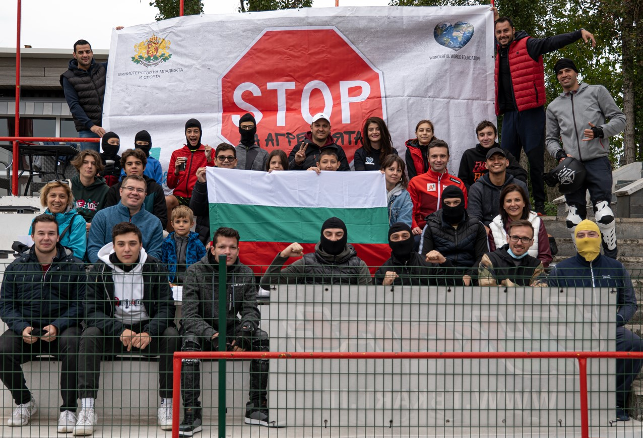 """Над 120 000 младежи са част от проекта """"STOP на агресията"""""""