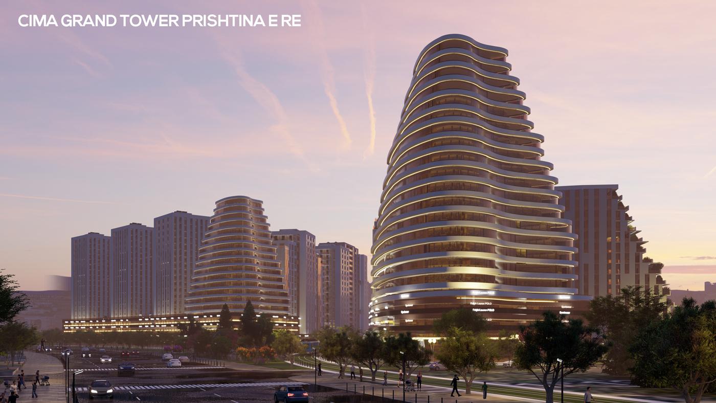 Косовска компания, изградила проекти с площ 651,925 м2, е финалист за Строителните Оскари