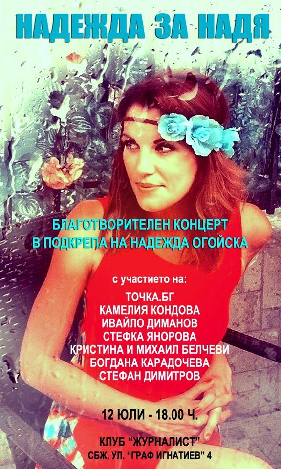 Благотворителен концерт в полза на Надя