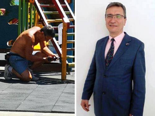 Директор на клиника сменя костюма с работен гащеризон и създава дом за децата-пациенти