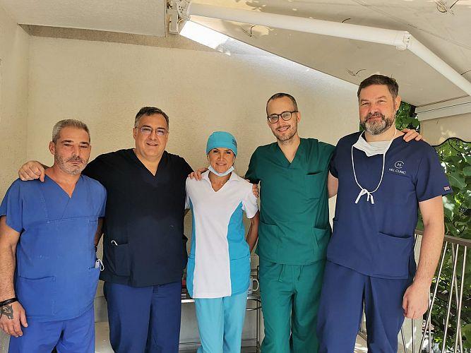 Лазерната урология в Хил клиник впечатлява швейцарци